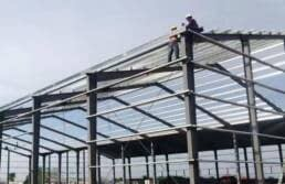 Metal Roofing Trusses