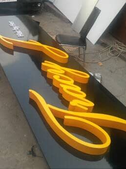 ID signs, Directional Signs, Facial Branding, Spreader Boards, Pylon Signs